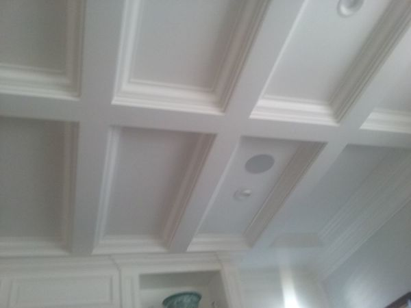 in-ceiling speaker installation in newport beach